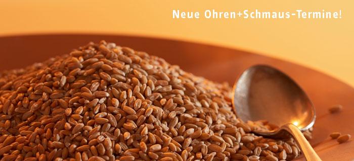 Home | Ohren+Schmaus | Wir | Kinderessen | Partyservice | Das Esszimmer |  Lieferanten | Kontakt.